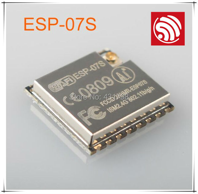 IOT ESP8266 Wireless WIFI serial module ESP-07S 5pcs graded version esp 01 esp8266 serial wifi wireless module wireless transceiver