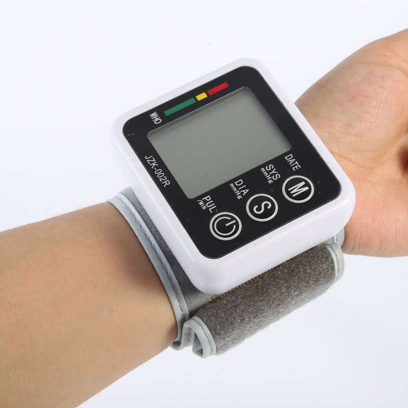 Automatic Digital Wrist Blood Pressure Monitor Meter Cuff Blood Pressure Measurement Monitor Sphygmomanometer Health Care