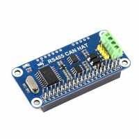 Waveshare RS485 peut chapeau pour Raspberry Pi zéro/zéro W/zéro WH/2B/3B/3B +, contrôleur de boîte de bord: MCP2515, 485 émetteur-récepteur: SP3485,