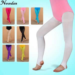 78b19e50a Novedan Girls Gymnastics Dance Children Ballet Tights