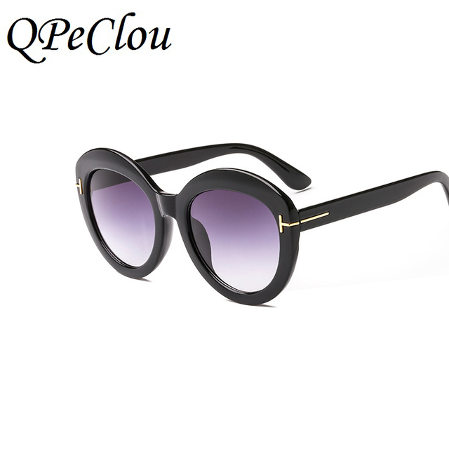 4120680c97 QPeClou New Brand Round Sunglasses Women 2018 Colorful Sun Glasses Men  Oculos De Sol Female Shades