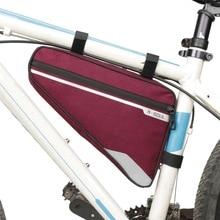 Велосипед велосипедный Велоспорт сумка передняя Труба Рамка Телефон водостойкие велосипедные сумки треугольная сумка Рамка Держатель Bycicle аксессуары