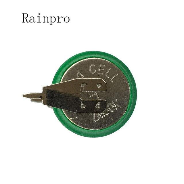 Rainpro 5PCS/LOT 3.6V 60mAh Ni CD nickel cadmium battery data backup battery memory cell industrial batteries
