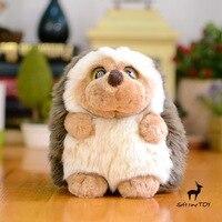 Kids Toys Cute Big Eyes Real Life Plush Hedgehog Doll Toy Child Gift Super Soft Cute