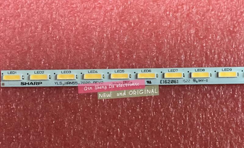 new2PCS LED backlight strip led kit For Sony 55 inch TV KD 5x8500c YLS HRN55 7020