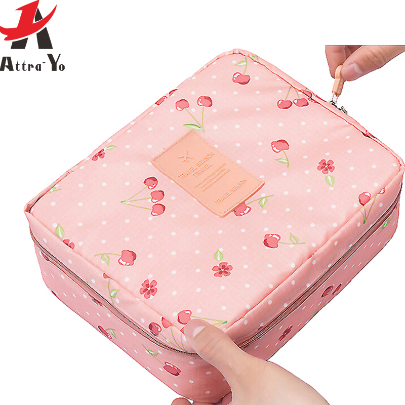 Women Bag Makeup-Bag Cosmetic-Case Toiletry-Storage Wash Ladies Ls8973ay Bolsas Attro-Yo