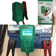 DY219  12V Automotive Digital Car Storage Battery Tester 600V CAT III Charging Diagnostic Tool CE Electrical Instruments