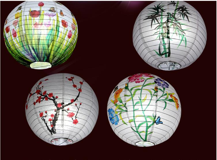 2017 Year Tradition  Chinese Decorative Festival Lantern Party Decoration Garden Classical Style