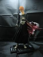 Anime Figure 22CM Bleach Kurosaki Ichigo PVC Action Figure Collectible Model Toy With Box
