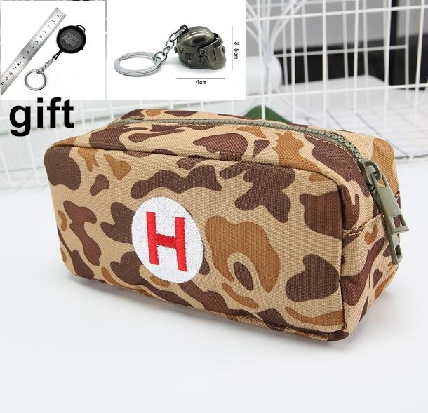 PUBG Playerunknown's Battlegrounds Medical package First aid kit Pencil case pen bag Student Thickening stationery