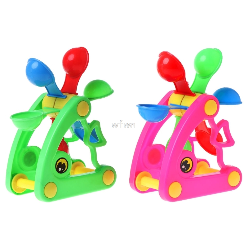 Windmill Waterwheel Toys Bath Toy Play Sand Water Toys Pool Beach Kid Baby Toy MAY10 dropship