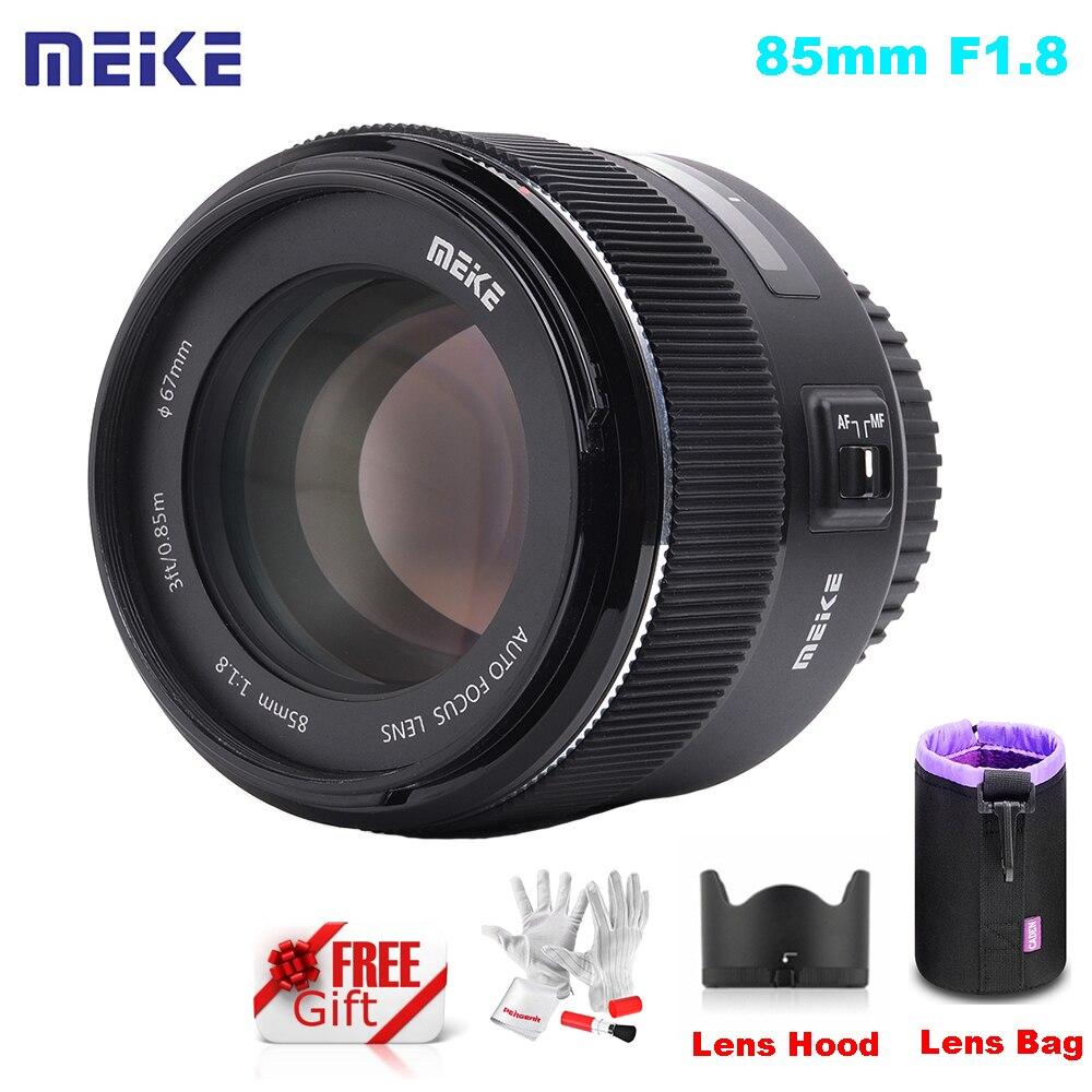 Meike 85mm F/1.8 AutoFocus Aspherical Medium Telephoto Lens Bag for Full Frame Canon EOS EF Mount 5D Mark iV 6D 7D 60D 80D 600D