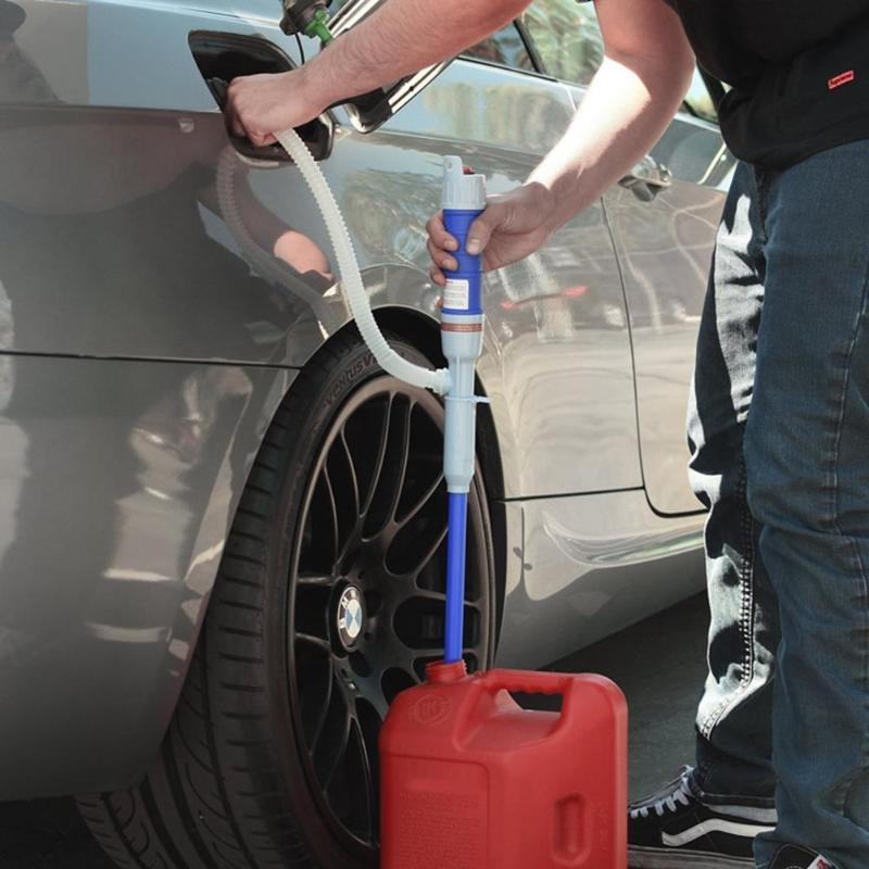 Inflatable Pump Travel & Roadway Product Car Auto Vehicle Fuel Gas Transfer Suction Pumps Outdoor Liquid Water Pump Car Pumping Unit