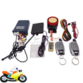 SPY Two Way Motorcycle Alarm System LCD Remote Control Engine Start & Microwave Sensor Motorbike Scooter Anti-theft Protection