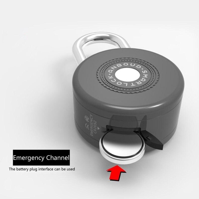 Bluetooth serrure intelligente Anti-vol alarme serrure pour vélo moto porte avec contrôle APP - 4