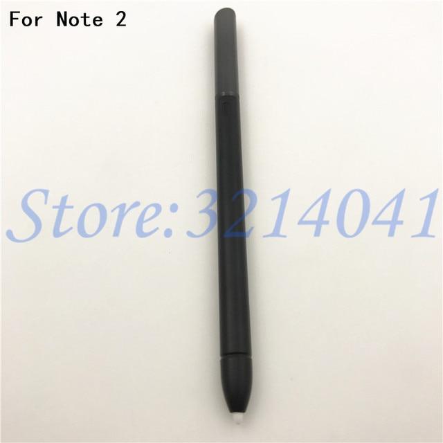 100% Original Para Samsung Nota Caneta 2 Ativo Stylus S Pen Para Samsung Galaxy Note 2 N7100 Caneta Touch Screen S caneta caneta-Caneta Com O Logotipo