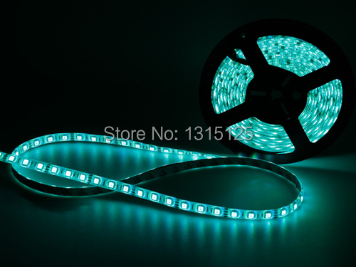 RGB LED Strip 5M 300Led 5050 SMD 44Key IR Remote Controller 12V Power Adapter Flexible Light Tape Waterproof Home Decoration