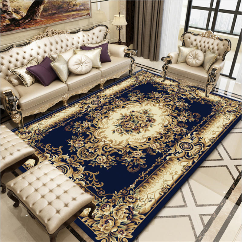 AOVOLL European High-end Atmospheric High Quality Carpet Carpets For Modern Living Room Anti-slip And Anti-wrinkle Floor Mats