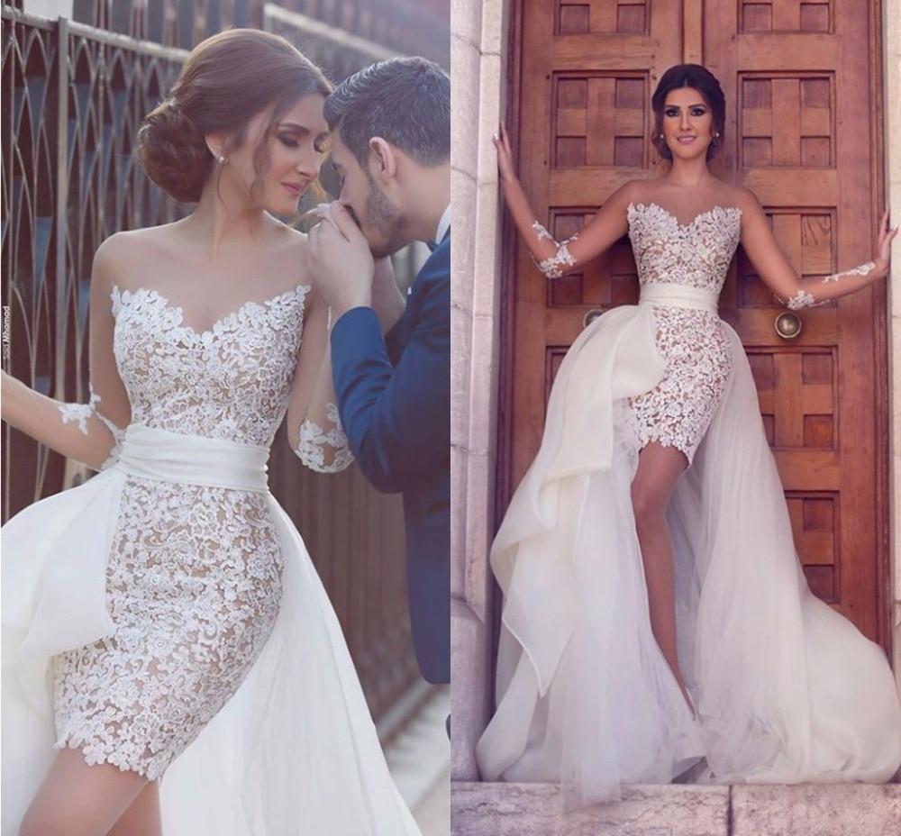 Свадебное платье два в одном