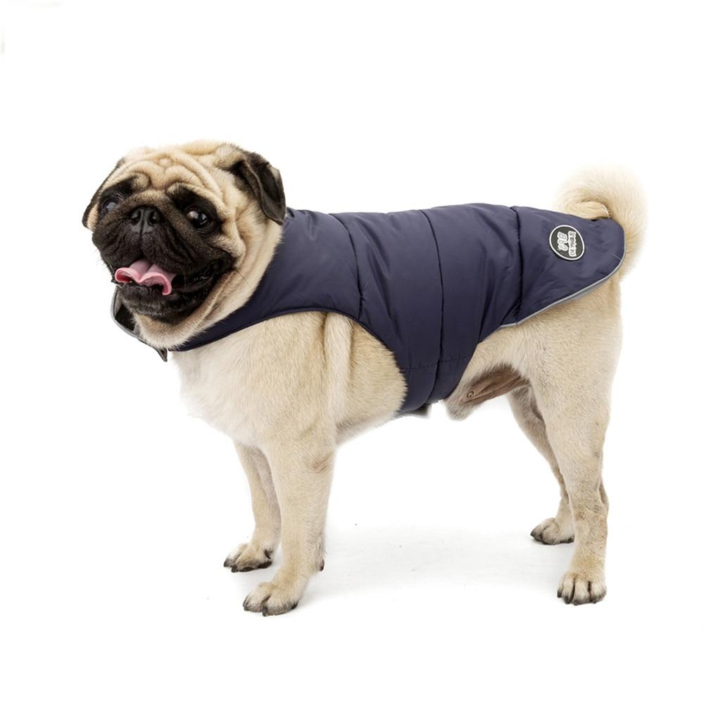 pet dog clothes winter warm dog coat Waterproof Reflective ...