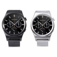 SmartWatch Edelstahl Band Smart Armband Uhr pulsmesser Schrittzähler Ursprüngliche Kühle X10 Bluetooth 4,0