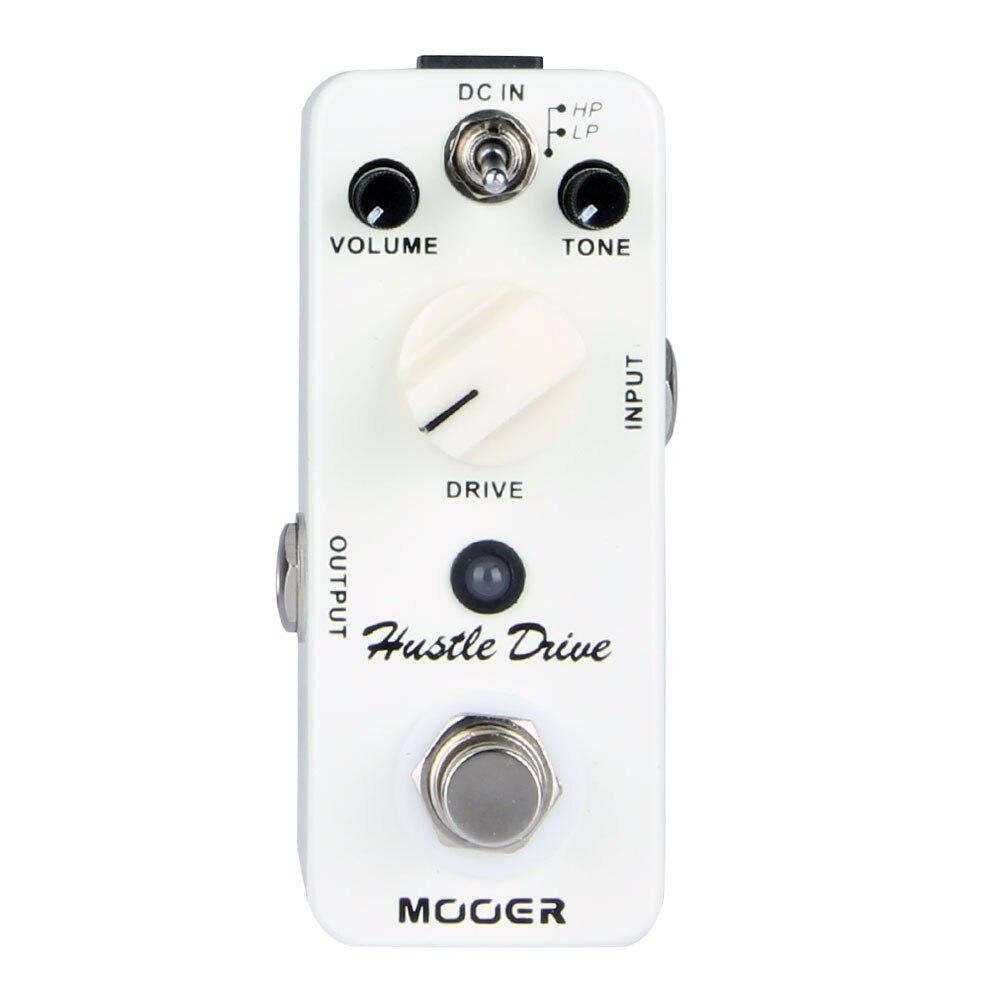 MOOER Micro Fretta Dell'azionamento di Distorsione effetti a pedale per chitarra Tubo-come suono Drive Chitarra Pedale Compatto