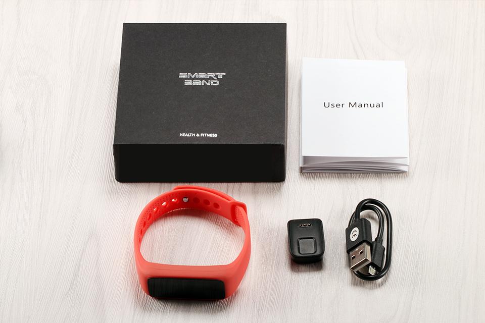 Lemfo l30t kolorowy ekran inteligentny zespół pulsometr krokomierz uśpienia fitness tracker dla andriod ios telefon 24