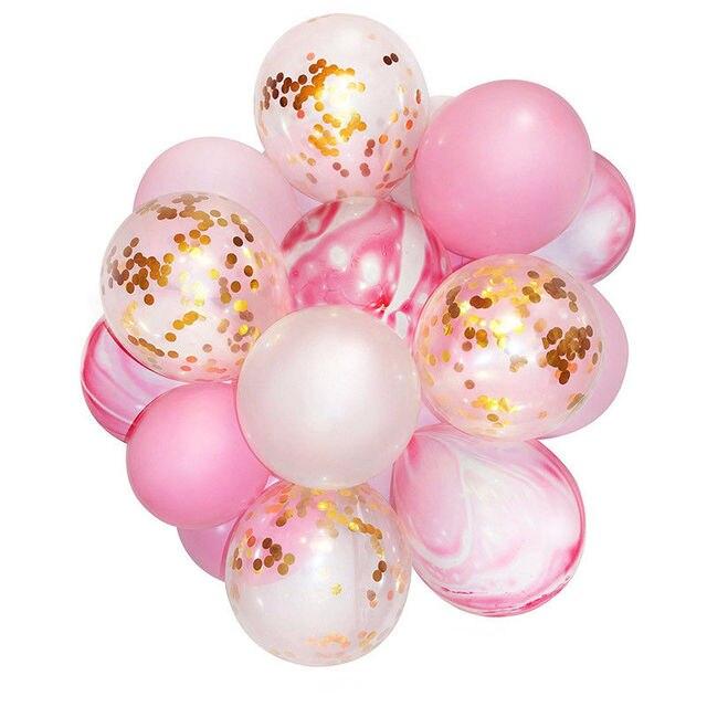 24 9 De Réduction21 Pièces Licorne Ballons Danniversaire Ramadan Or Confettis Ballon De Mariage Décoration Babyshower Ballon En Latex