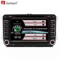 Junsun 2 Din 7 Car DVD Radio Player For Skoda Fabia Praktic Roomster Octavia Yeti Audio