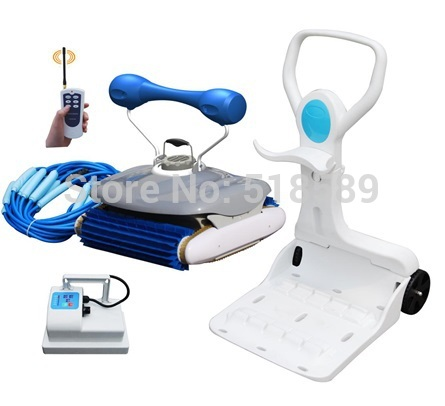 Gratis frakt Robot Swimming Pool Cleaner 2028 med 18m kabel for alle - Husholdningsapparater