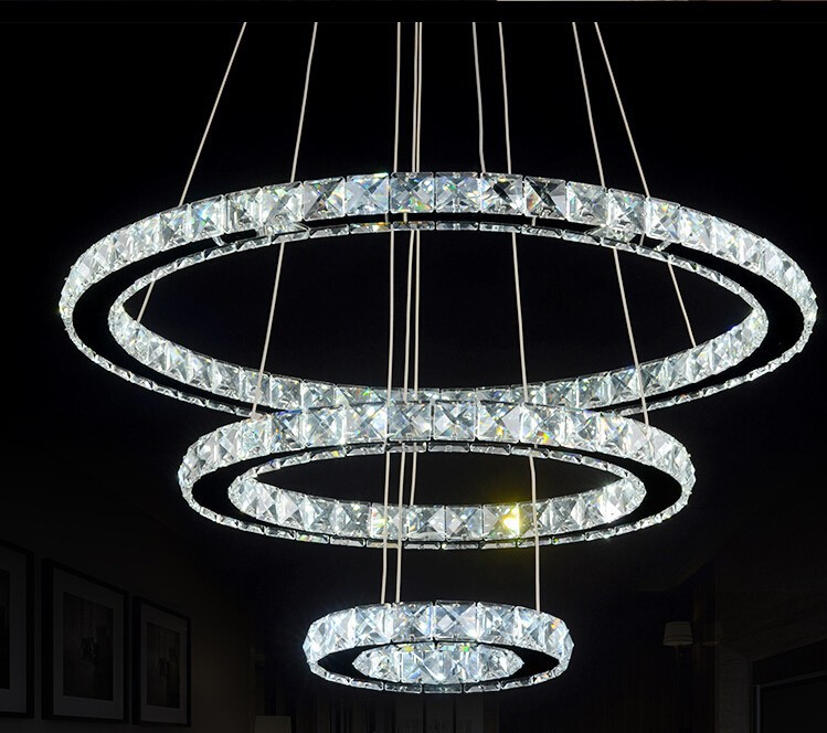 Luxury crystal chandelier chandelier k9 crystal led lamp with luxury crystal chandelier chandelier k9 crystal led lamp with adjustable light dining room stainless steel crystal chandelier in chandeliers from lights aloadofball Image collections