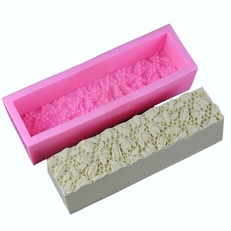 Toast Silicone Mold Roses Bee Nest Handmade Soap Mold Diy Toasts