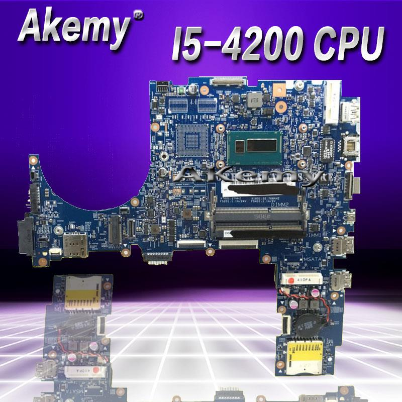 Akemy with I5-4200 CPU B551LA Laptop motherboard  for ASUS B551LA Test mainboard B551LA B551L motherboard test 100% okAkemy with I5-4200 CPU B551LA Laptop motherboard  for ASUS B551LA Test mainboard B551LA B551L motherboard test 100% ok