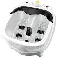 Electric Feet Cleansing Split Foot Bath Automatic Massage Clean Tub Electronic Heating Leg Wash Soaking Basin Pedicure Barrel