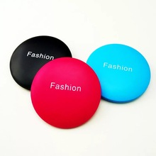 Double Side Portable Mini Makeup Mirror Lovely blue Color Pattern Foldable Detachable Cosmetic Compact Mirror недорого