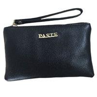 PASTE New Leather Ladies Handbag Leather Zipper Bag Mini Simple Hand Bag Purse Female