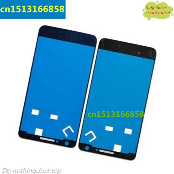 US $6 55 5% OFF|10 pieces/lot Front Housing Frame Bezel Plate Adhesive  Sticker OEM Parts for Samsung Galaxy S2 i9100 i9105-in Mobile Phone Flex  Cables