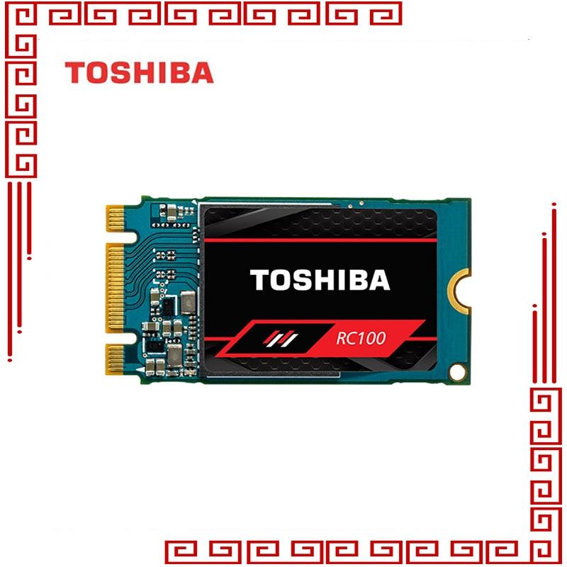 Toshiba RC100 NVMe SSD 240 GB Solid State M.2 2242 PCIe 3.0*2 disque dur SSD disque dur interne pour ordinateur portable de bureau