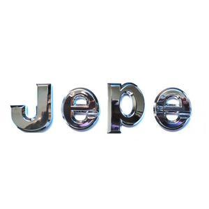 Image 3 - ABS Badge For 3D J E P E Letters Emblems Emblema Logos Stickers Badges