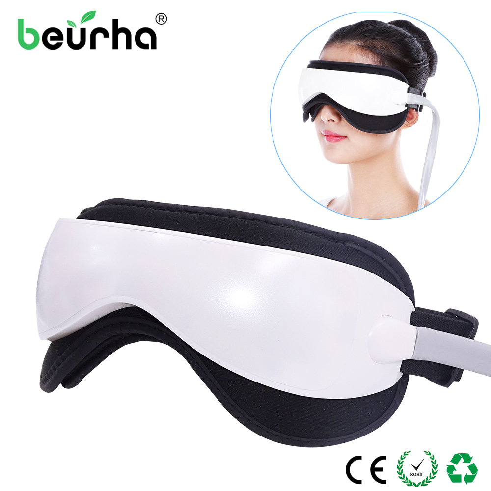 Dropshipping Electric Eye Massager Mask Migraine Eye Vision Improvement Forehead Eye Care Glasses Massager Health Care Tools