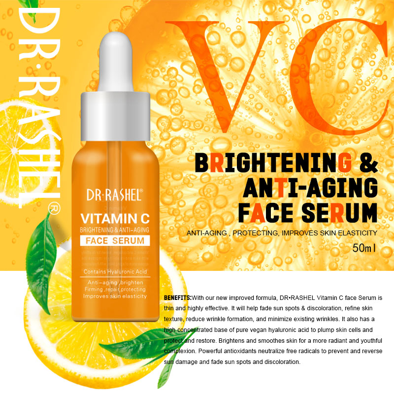 Medical Skin Care: DRRASHEL Vitamin C Face Serum Hyaluronic Acid Essence