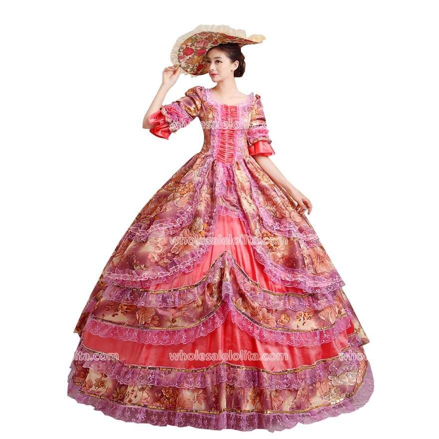 Top Sale Gothic Lolita Dress Rococo Dress Victorian Belle Ball Theater Dress/ Party Wear Dress