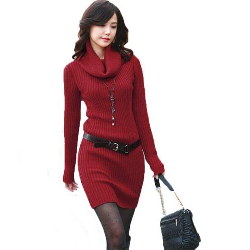 Style À Sexy Solide Mode Chandails Pour Slim Pull Manches Longues Femelle Femmes Automne Long dxPqTxY
