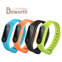 M2 Smart Bracelet Heart Rate Monitor Bluetooth Smart Band Health Fitness Tracker Pedometer Band Wristband for Android iOS T4 bluetooth wristband bracelet smart band fitness tracker heart rate sleep monitor dynamic pedometer smartband for ios android b0