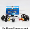 Vehicle Backup Cameras For Hyundai i40 2011~2016 / RCA AUX Wire Or Wireless / HD CCD Night Vision Car Rear View Camera