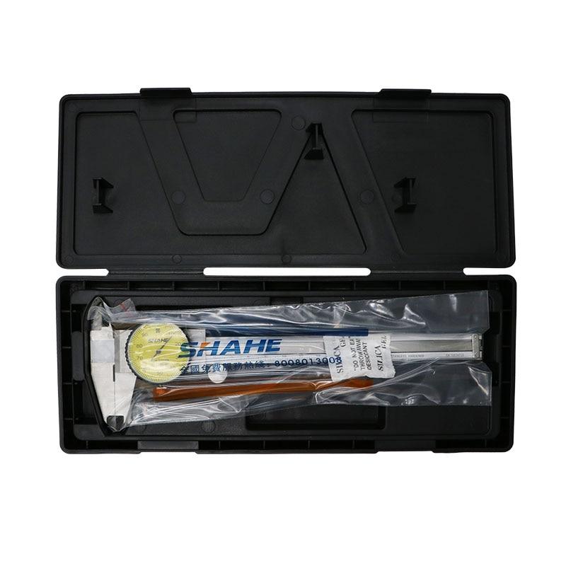 Tools : SHAHE  6   dial caliper 0 01 mm Shock-Proof Stainless Steel Vernier Dial Caliper Gauge Micrometer