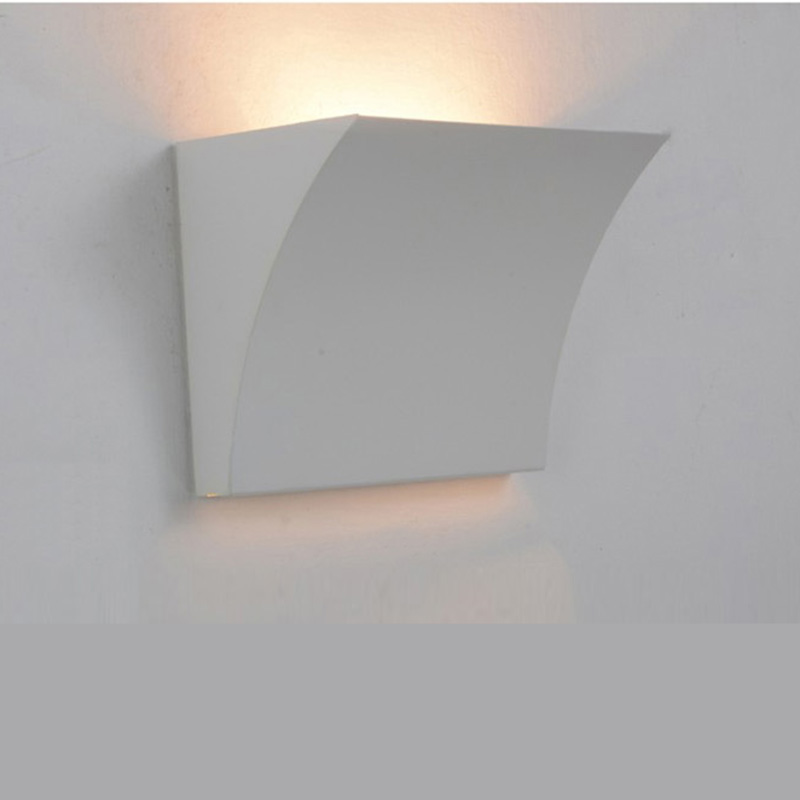 aluminum led wall lamp ac85265v high power up down light living wall mounted led