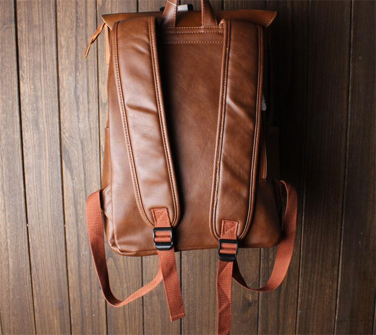 men leather backpack07