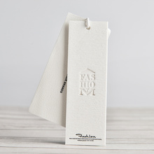 Custom High-End Clothing Paper Tags