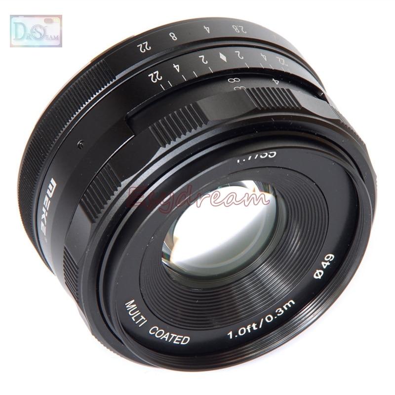 35mm 35 F1.7 Manual Lens for Fujifilm Fuji FX X-T10 X-T2 X-T1 X-A3 X-A2 X-A1 X-PRO2 X-PRO1 X-E2 X-E1 X-M1 цена